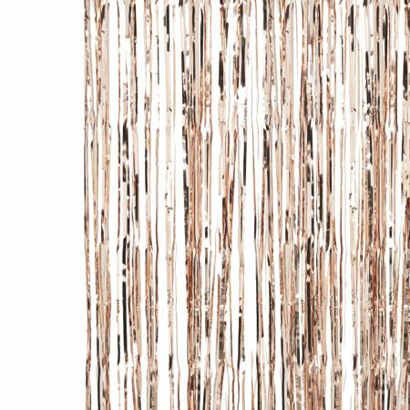Ginger Ray® Rose Gold Fringe Curtain Pick & Mix