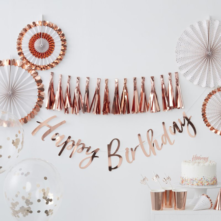 Picture of Ginger Ray® Rose Gold Party Bags Pick & Mix