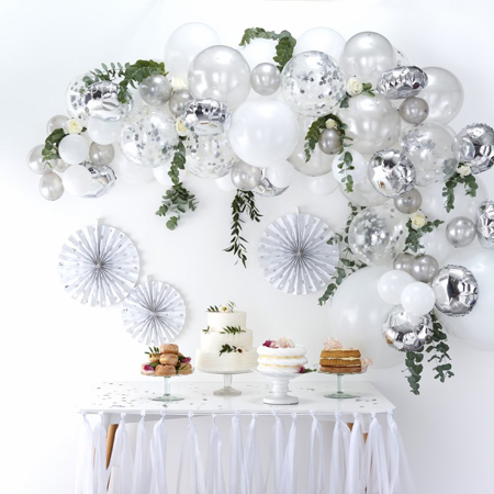 Picture of Ginger Ray® Balloon arch Kit Silver