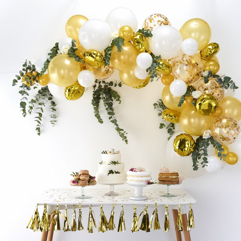 Picture of Ginger Ray® Balloon arch Kit Gold
