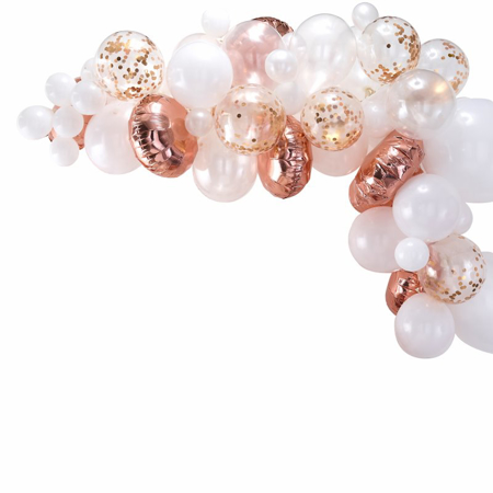 Picture of Ginger Ray® Balloon arch Kit Rose Gold