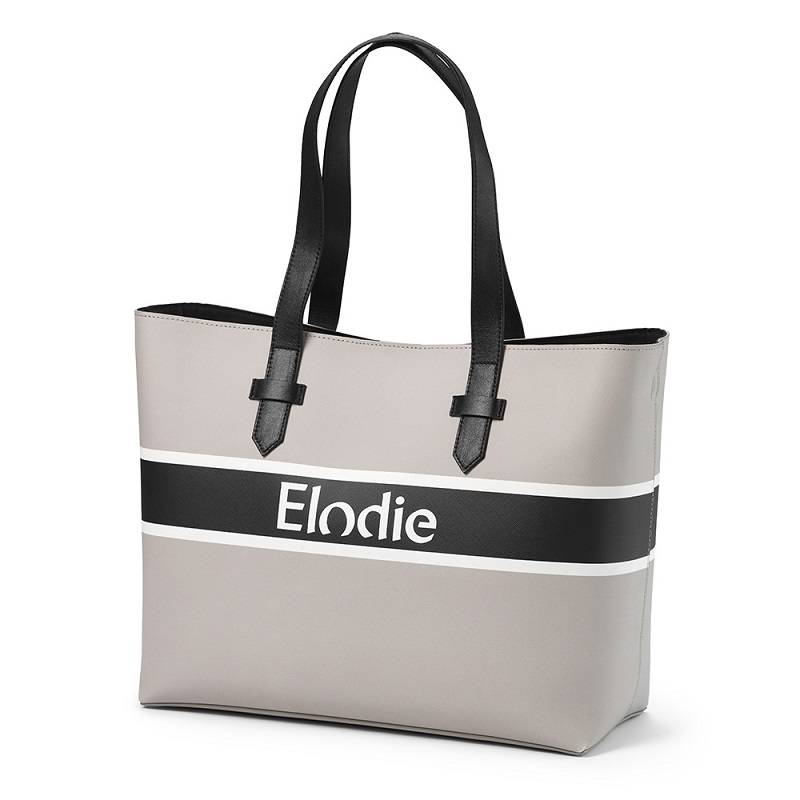 Brilliant Black Elodie Details Changing Bag Signature Edition