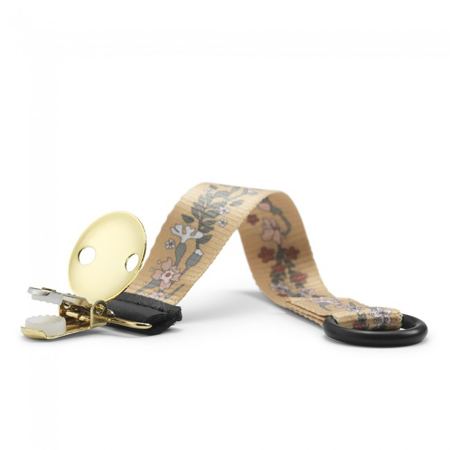 Elodie Details® Držalo za dudo Golden Vintage Flower
