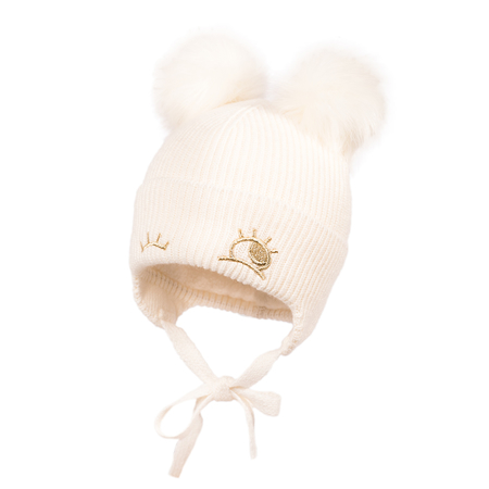 Picture of Jamiks® Children's Winter Cap Zina Ecru