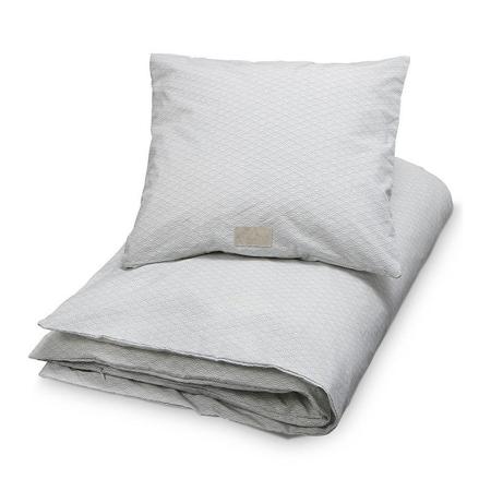 CamCam® Danish Bedding Dot Creme/Grey (100x140;45x40)