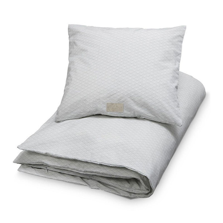 CamCam® Danish Bedding Dot Creme/Grey (70x100;45x40)
