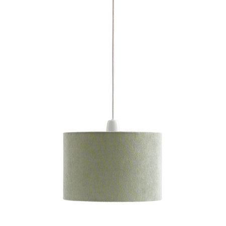 Picture of Kids Concept® Lamp shade corduroy light green