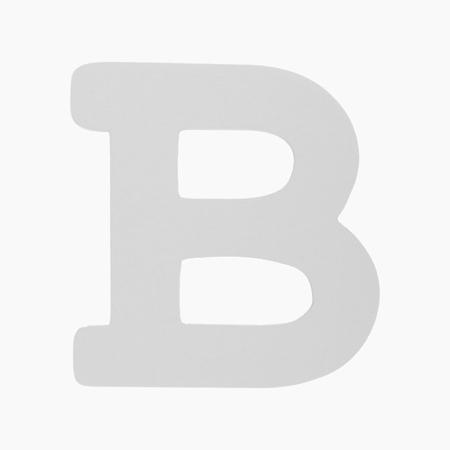 BamBam® Wooden Letters White - B