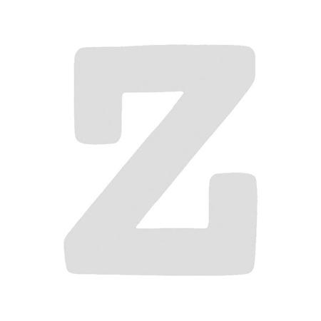 BamBam® Wooden Letters White - Z