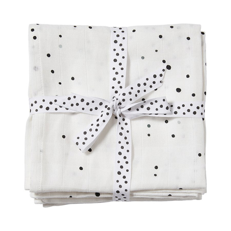 Picture of Done by Deer® Swaddle 2-pack Dreamy dots White 120x120