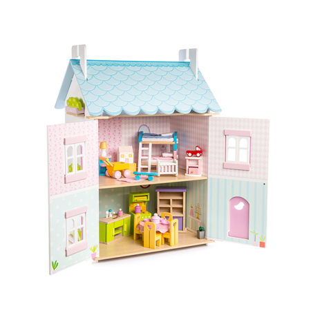 Picture of Le Toy Van® Bluebird Dolls House & Furniture