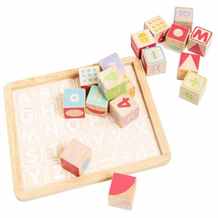 Immagine di Le Toy Van® Cubi di legno ABC