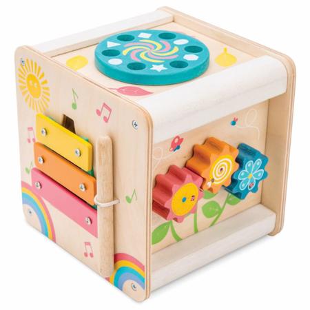 Slika Le Toy Van® Lesena aktivnostna kocka