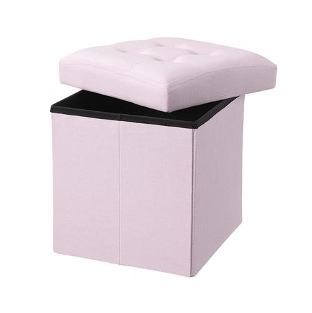 Slika Kids Concept® Sedež s predalom za shranjevanje Light Pink