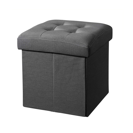 Slika Kids Concept® Sedež s predalom za shranjevanje Dark Grey