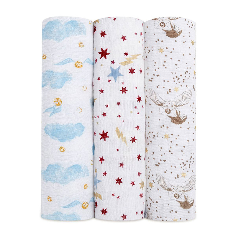 Picture of Aden+Anais® Silky Soft Swaddles 3-pack Harry Potter 120x120
