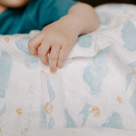 Picture of Aden+Anais® Silky Soft Swaddle Harry Potter 120x120