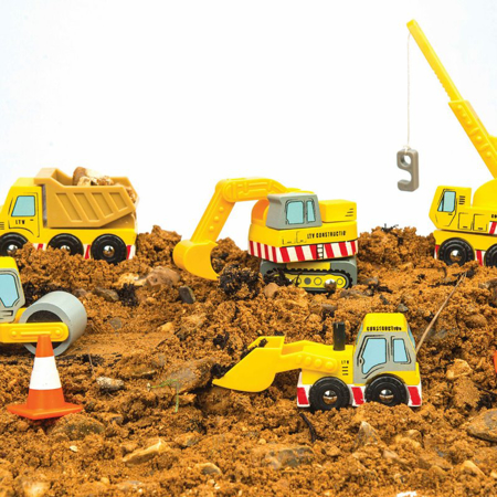 Picture of Le Toy Van® Construction Cars