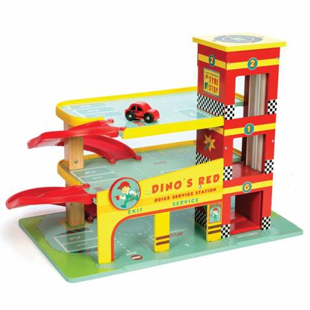 Slika Le Toy Van® Garažna hiša Dino