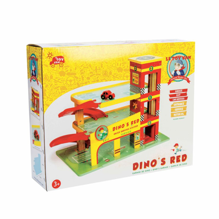 Picture of Le Toy Van® Dino's Toy Garage
