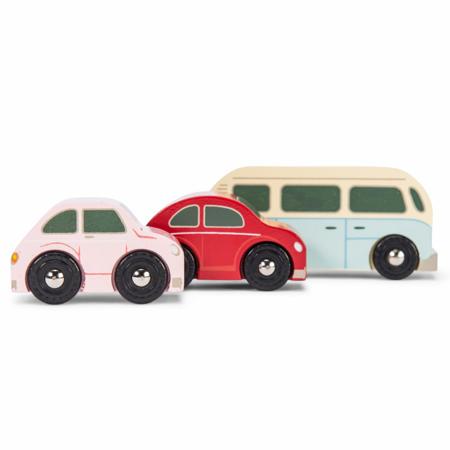 Picture of Le Toy Van® Retro Metro Car Set