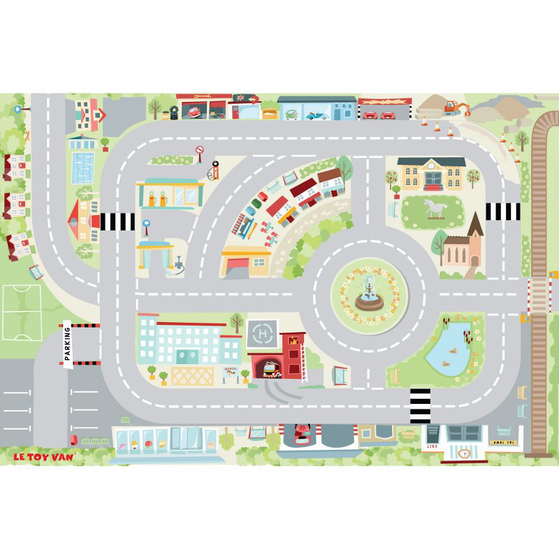 Picture of Le Toy Van® Town Playmat