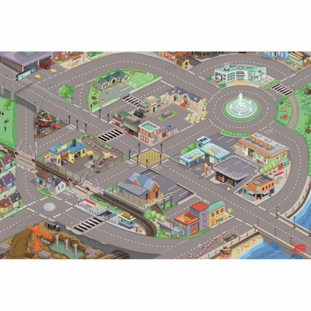 Picture of Le Toy Van® Toy Car Playmat