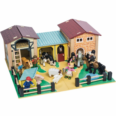 Picture of Le Toy Van® The Wooden Farmyard