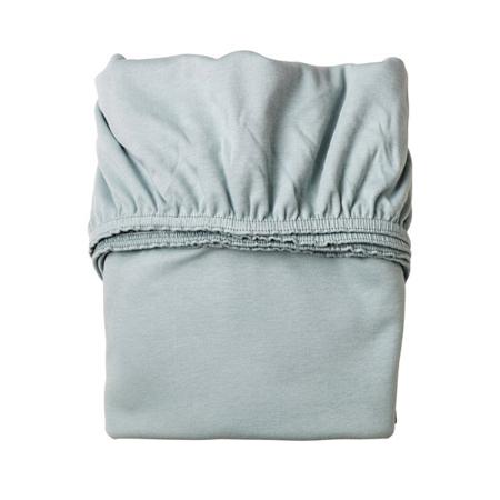 Leander® Cradle Sheet 79x49 White/Blue