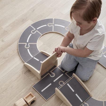 Picture of Kids Concept® Wooden car track AIDEN
