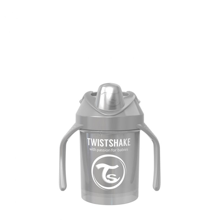 Picture of Twistshake Mini Cup 230ml (4+M) Pearl Grey