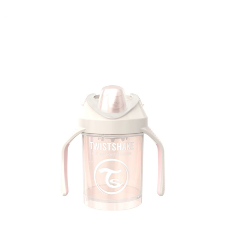 Picture of Twistshake Mini Cup 230ml (4+M) Pearl Champagne