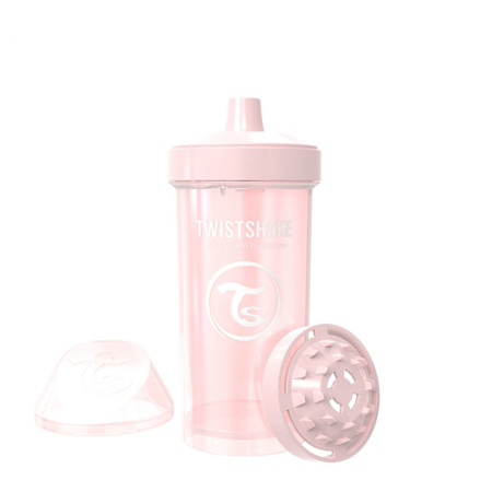 Picture of Twistshake Kid Cup 360ml (12+M) Pearl Pink