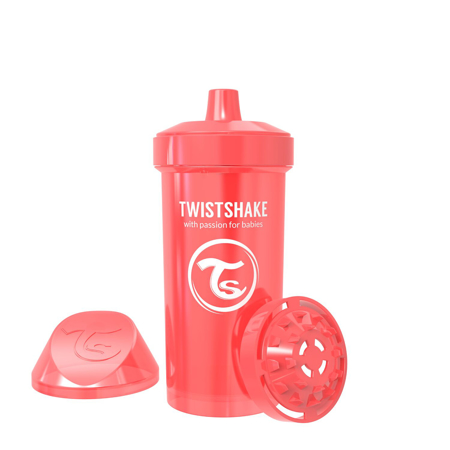 Picture of Twistshake Kid Cup 360ml (12+M) Pearl Red