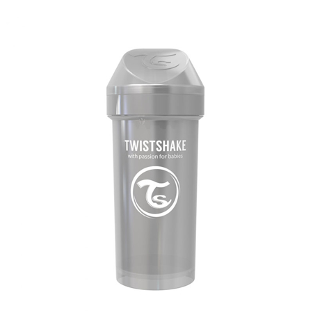 Picture of Twistshake Kid Cup 360ml (12+M) Pearl Grey