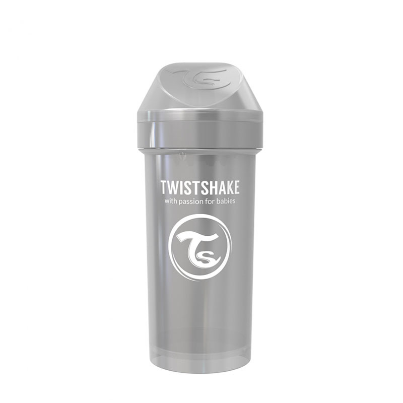 Picture of Twistshake Kid Cup 360ml (12+M) Pearl Grey