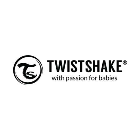 Picture of Twistshake 2x Pacifier Pearl Pink&Red (0+/6+)  - 0-6 M