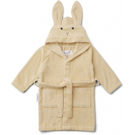 Picture of Liewood® Bathrobe Rabbit Smoothie Yellow 3/4 Y