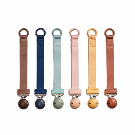 Picture of Elodie Details® Pacifier Clip Wood Gold