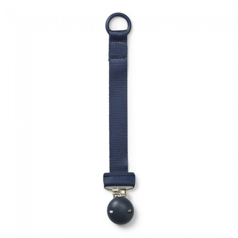 Picture of Elodie Details® Pacifier Clip Wood Juniper Blue