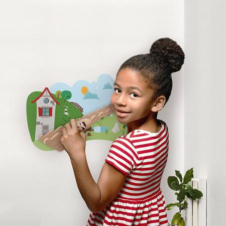 Oribel® Vertiplay Wall Toy Jack And Jill