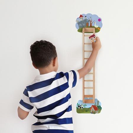 Oribel® Vertiplay Wall Toy Jack Vs Giant