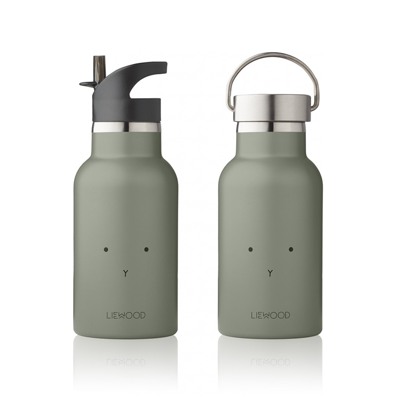 Picture of Liewood® Anker Water Bottle - Rabbit faune green