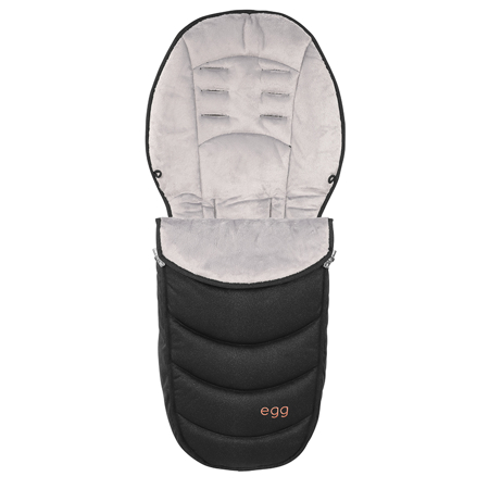 Picture of Egg by BabyStyle® Footmuff Rose Gold Diamond Black