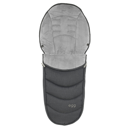 Picture of Egg by BabyStyle® Footmuff Carbon Grey