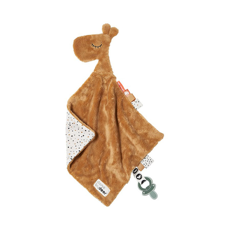 Picture of Done by Deer® Comfort blanket Raffi Mustard