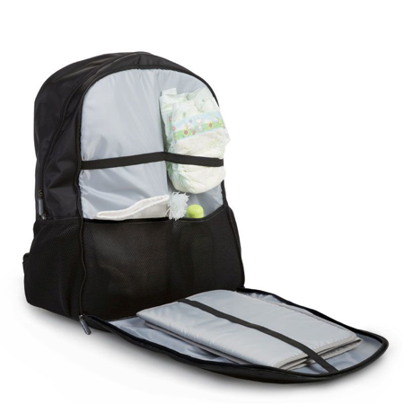 Picture of Childhome® Backpack Daddy Bag Black