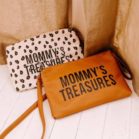 Picture of Childhome® Mommy Clutch Canvas Leopard