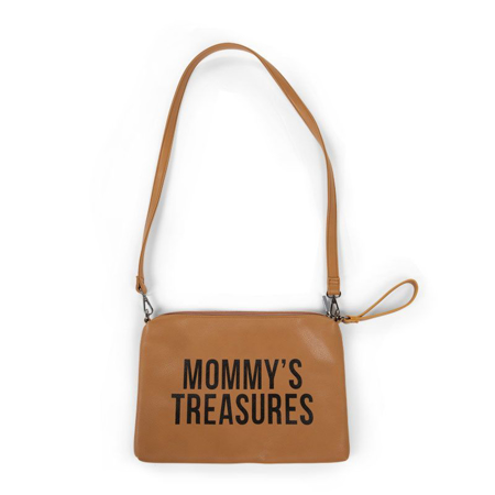 Picture of Childhome® Mommy Clutch Leatherlook Brown