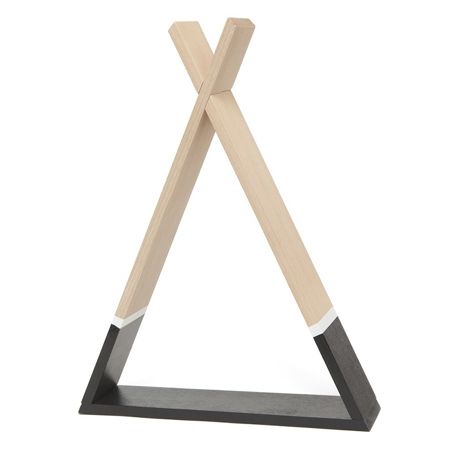 Picture of Petit Monkey® Tipi shelf black